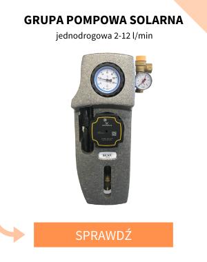 Grupa pompowa solarna jednodrogowa 2-12 l/min