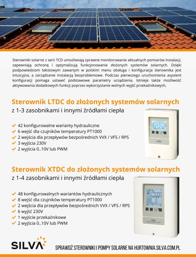 regulacja instalacji solarnej sterowniki solarne regulatory solarne sterowniki do solarów